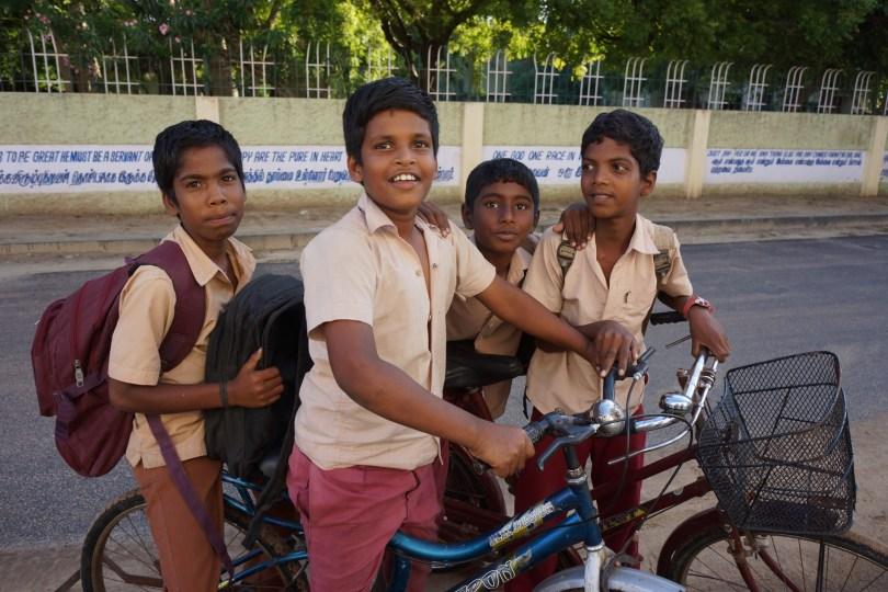 Tharangambadi School Kids