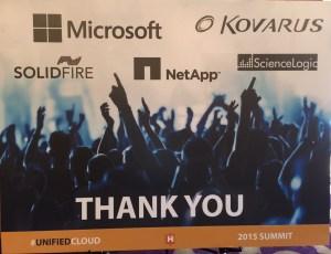 Hosting Customer Summit Partners