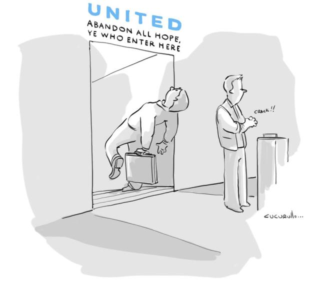 Vote on Your Favorite United Airlines Cartoon 2