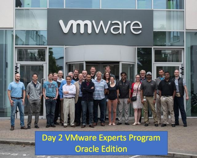 Day 2 VMware Experts Programs