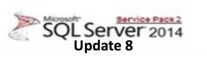 SQL Server 2014 Service Pack 2 Cumulative Update 8