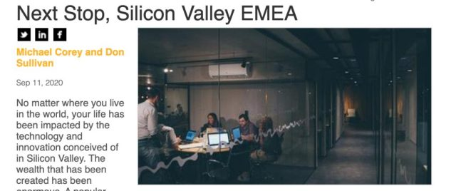 Next Stop Silicon Valley EMEA