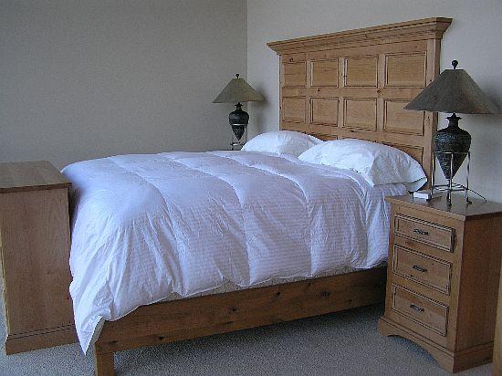 Custom Built Wooden Bedroom Sets  Michael Cowmans Custom