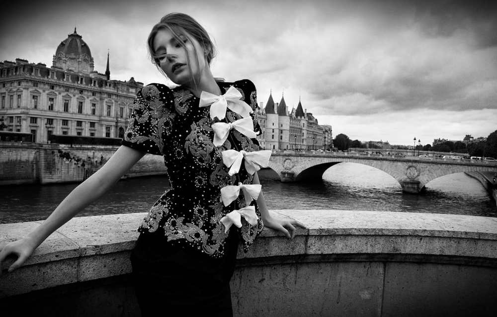Fine Art Photography Michael David Adams Photographer Limited Edition Fashion Paris streets Hana Jousselin