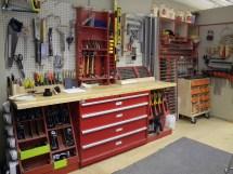 Wood Shop Tool Layout Design Ideas