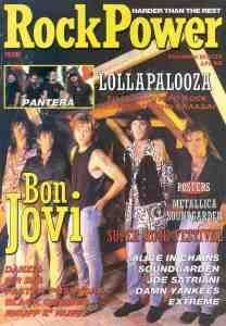 Rock Power Sept 16 1992 Intl Cover
