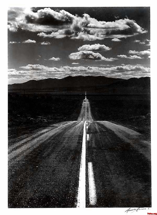 Ansel Adams Photography Road