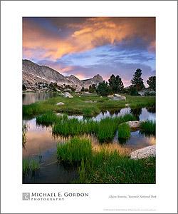 Alpine Sunrise poster