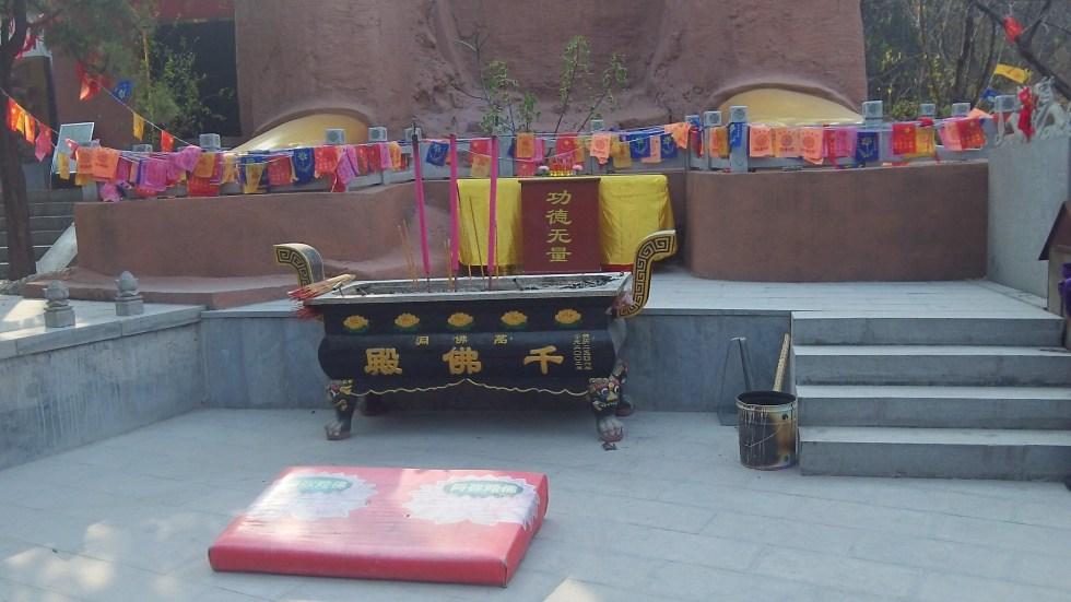 exterior Buddhas at 1000 Buddha mountain