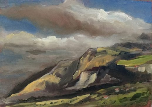 Monte San Calogero, June 5th, Sicily 2018, PRIVATE COLLECTION