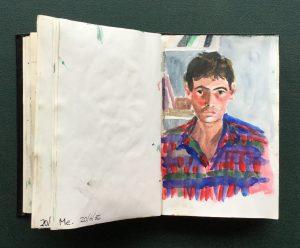 Self-Portrait, 1986