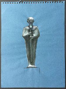 Bronze Figure of Ptah,