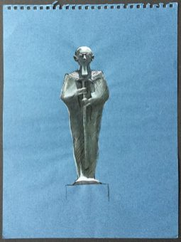 Bronze Figure of Ptah,