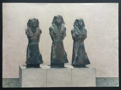 Three Statues of Senwosret III,