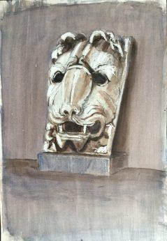 Lion's Head II, Rome, 1988