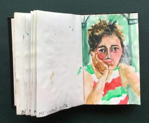 Sketchbook, MT, June, 1986