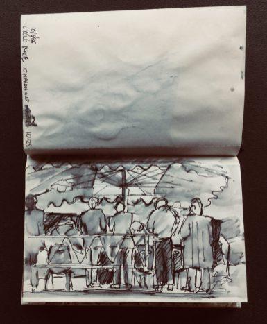 Sketchbook, June, 1986