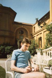 MG, Sketching, The Lenbachhaus, Munich, 1986, PHOTO - Paul Ryan
