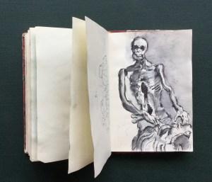 Skeleton, Bayerisches Nationalmuseum (?), Munich, 1990