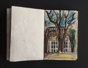 Sketchbook - Holland Park, 1986