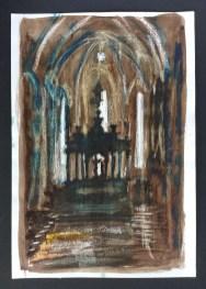 Church Interior, Umbria, 2000