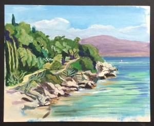 Kaminaki, Corfu, 2001