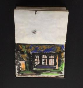 Sketchbook - Holland Park, Late Afternoon, 1986