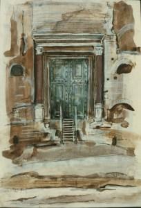 Forum, Rome, 1987, Private Collection