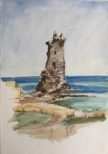 Genoese Watchtower, Macinaggio, Corsica, 2003