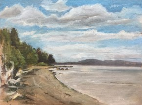 Beach, Penobscot Bay, 2010