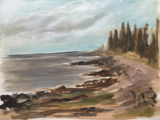 Johns Bay Coastline, Pemaquid, 2015