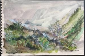 Valley Near Gaucin, October, 2003