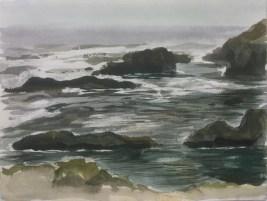 Mendocino, Rocks, 2013