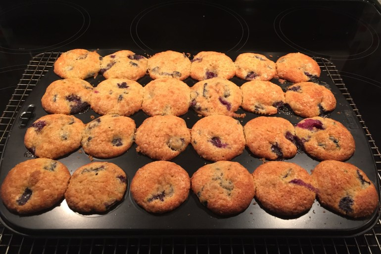 Mark's muffins, August 17th, 2019