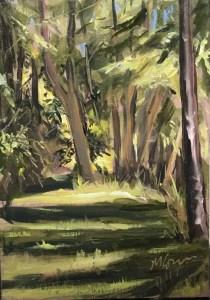 Lakeside Trees, July 8th, 2018