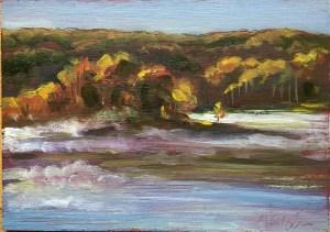 Upton Lake, Early Morning, October 5th, 2019