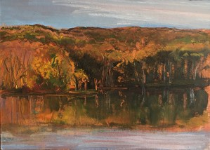 Upton Lake, Late Afternoon, October 19th, 2019