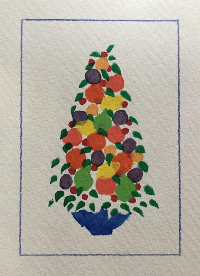 Christmas Card - 1990's,