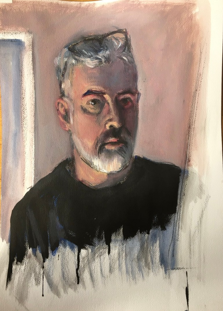 Self Portrait, February 8th, 2020