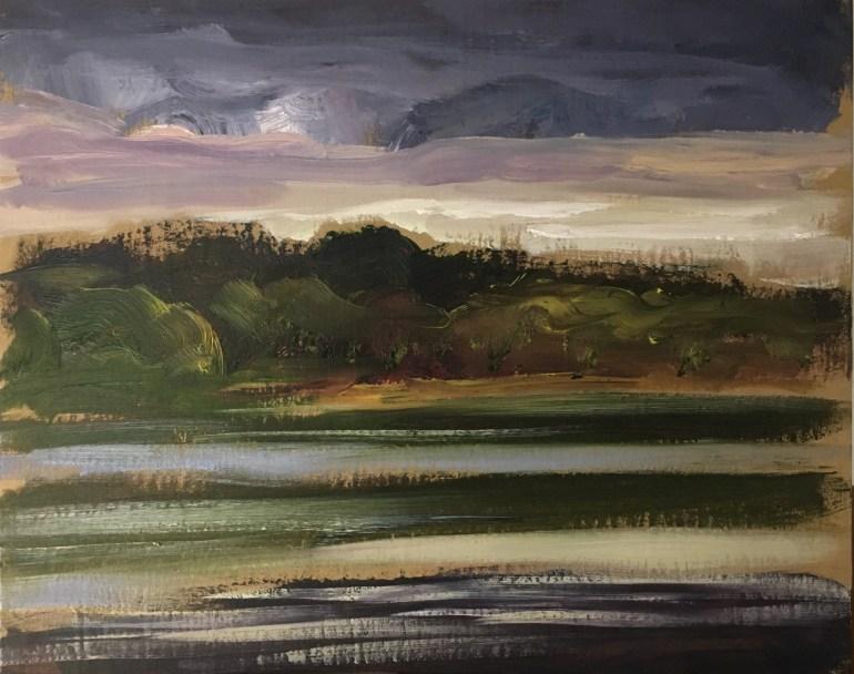 Approaching Storm, Upton Lake II, May 15th, 2020