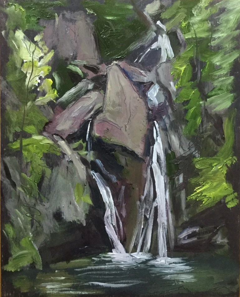 Bash Bish Falls, Early Morning, June 24th, 2020 Private Collection