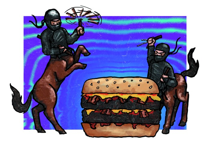 Ninja Centaur Attack