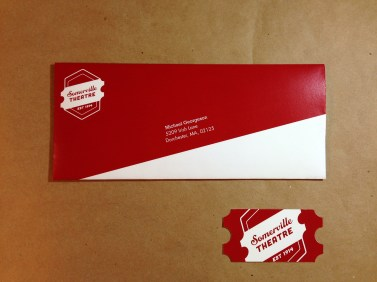 Envelope and Business Card