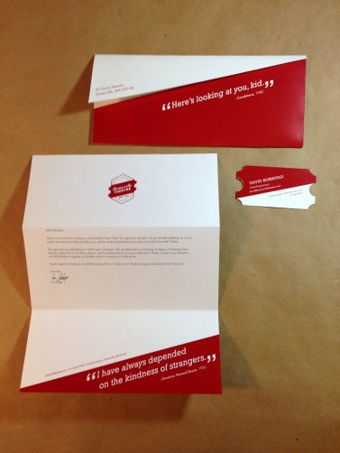 Envelope, Letterhead, and Business Card
