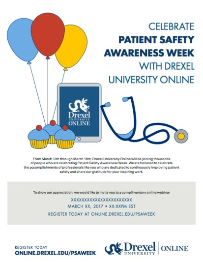 Patient Safety Week Flyer