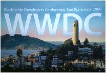 Steve Jobs präsentiert auf der WWDC 2008