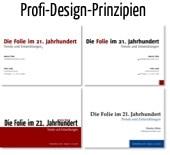 Die vier Prinzipizen professionellen Designs