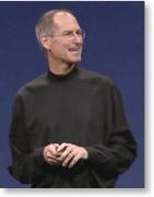 Steve Jobs bei der WWDC08-Konferenz