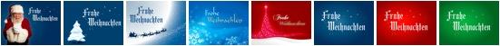 Die acht Folien des Weihnachts-Give-Aways