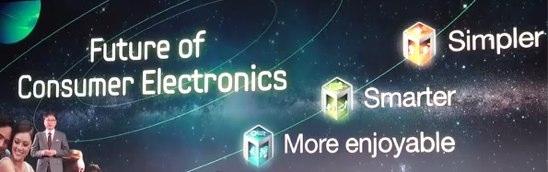 "Samsung ""Zukunft der Komsumelektronik"""